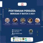 Pertemuan Perdana Berugak IT Batch 3